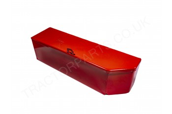 Replacement Tool Box Toolbox Kit Box Universal Red Painted With Cut Out Suitable for International B275 B414 276 434 Series TP049 708194R92 702634R92