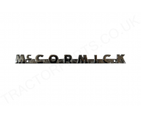 International McCormick badge 704133R3 Chrome B250 B275 B414