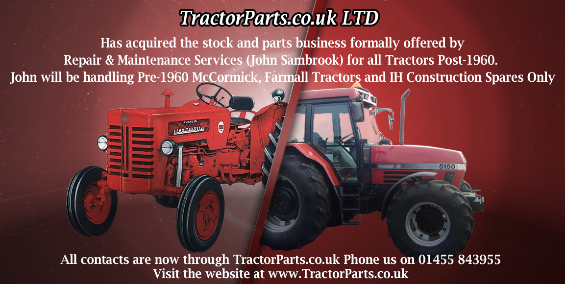 tractorparts co uk case international tractor parts specialist rh tractorparts co uk 1948 International Tractor McCormick Compact Tractors
