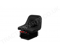 PVC Spring Suspension Seat Universal Fit For Tractors Massey Ford New Holland Case John Deere MGV84-MI560 But Similar