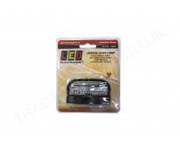 12V 24V Number Plate Lamp LED Waterproof IP67 ECE Approved 67mmx42mmx40mm