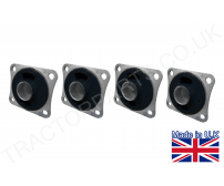 Set of Four 4 Tractor Cab Mount 1502231C91 1533773C1 3116147R91 1533773C2 1284740C2 For Case International