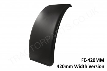 Tractor Front Mudguard Fender 420MM Plastic Rubber Skin Case International Ford New Holland Massey John Deere McCormick 3200 4200 5100 44 46 55 56 85 95 CX MX