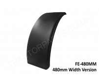 Tractor Front Mudguard Fender 480MM Plastic Rubber Skin Case International Ford New Holland Massey John Deere McCormick 3200 4200 5100 44 46 55 56 85 95 CX MX