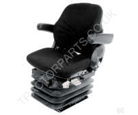 XL SEAT CASE INTERNATIONAL TRACTOR SEAT GRAMMER MAXIMO BASIC BLACK TYPE 830-351