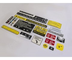 Decal Chassis Cab Set Sensodraulic Fits International  856XL 956XL 1056XL