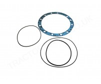 Brake O-ring and Axle Gasket Kit W/ 12 Round Holes 74 85 Series GG-ORK-BRK74 399762R5 238-6267 238-5367 238-6274 For Case International 385 485 585 685 785 885 985 454 474 475 574 674 484 584 684 784 884