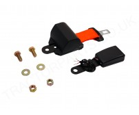 Orange Seat Belt Replacement Standard Retractable With Bolts and Switch Seatbelt High Vis Safety