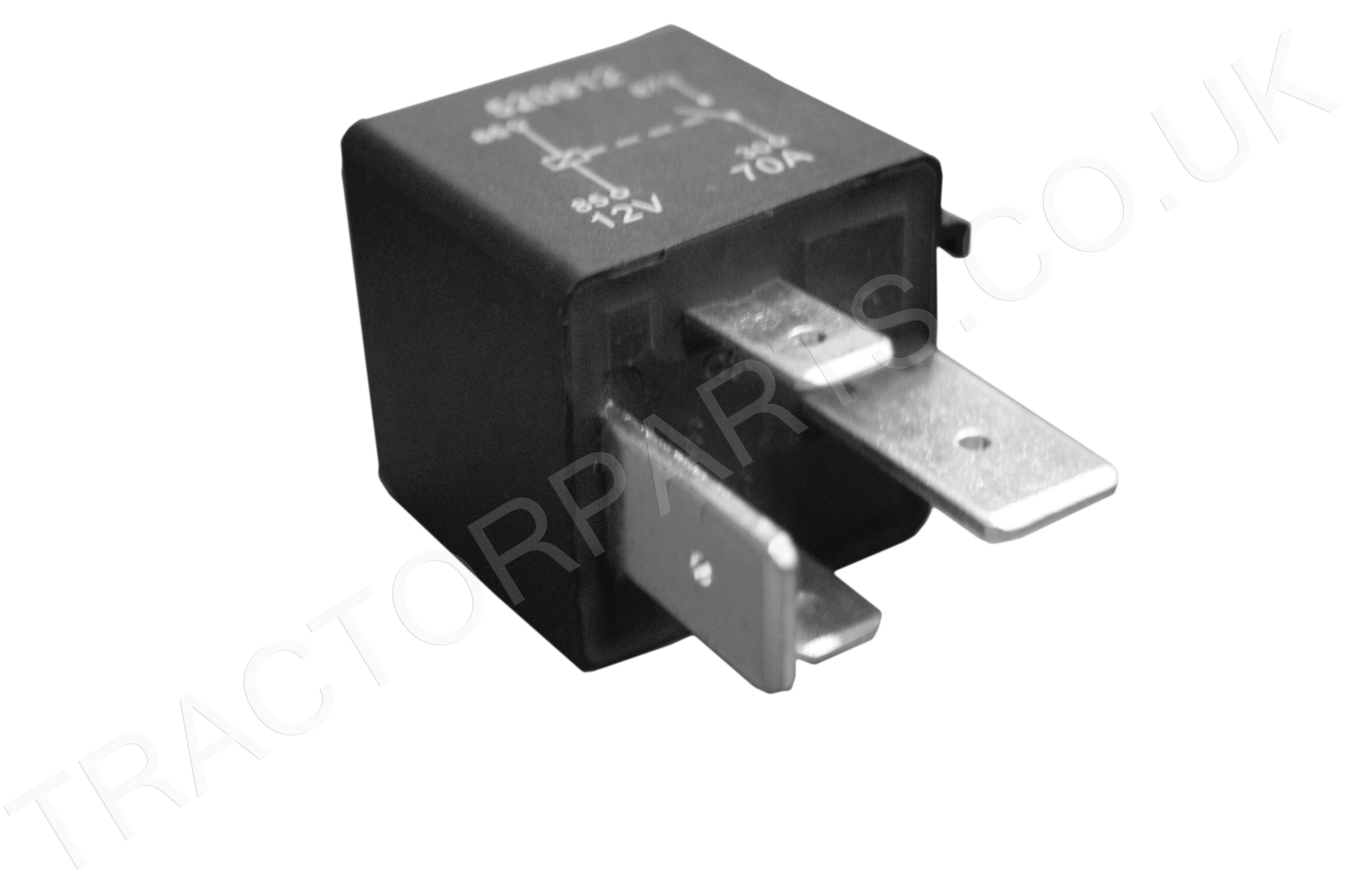 Case MX Starter Relay Switch 12V 70 AMP 4 Pin 84172275 1987452C1 - 4 Prong Relay Part Number