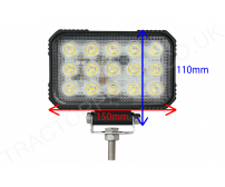 Case International XL Roof Work Light Lamp LED Conversion 15 X LED 22.5 WATT