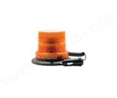 LED Flashing Amber Beacon Compact Magnetic Mount 12/24/48V IP67 ECE R10 Waterproof