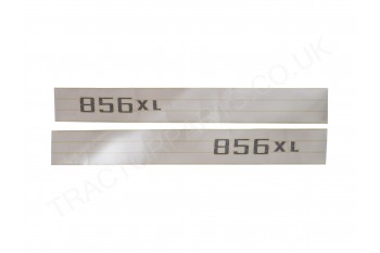 856XL Special Bonnet Decal Sticker Set for International Harvester Special 56 Series with Stripes DEC-153S